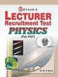 Lecturer Recruitment Test Physics by Upkar Prakashan