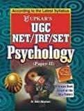 UGC-NETJRFSET Psychology - Paper-II by Amit Abraham