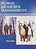 Human Resource Management by Verma N