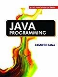 Java Programming by Kamlesh Rana