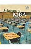 Solutions to MBA Fourth Semester by Kamal Mann