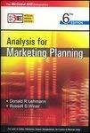 ANALYSIS FOR MARKETING PLANNING SIE by Donald Lehmann