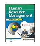 Human Resource Management                        Paperback K. Aswathappa   Pustakkosh.com