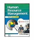 Human Resource Management                        Paperback K. Aswathappa | Pustakkosh.com
