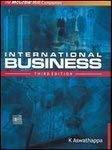 International Business by K Aswathappa