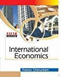 International Economics by Francis Cherunilam