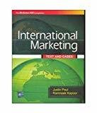 International Marketing Text and Cases by Justin Paul