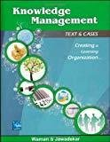 Knowledge Management by Waman Jawadekar