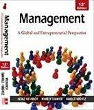 MANAGEMENT A GLOBAL  ENTREPRENEURIAL PERSPECTIVE by Heinz Weihrich