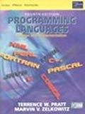 Programming Languages 4E by Pratt