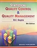 Statistical Quality Control  Quality Management by R C Gupta