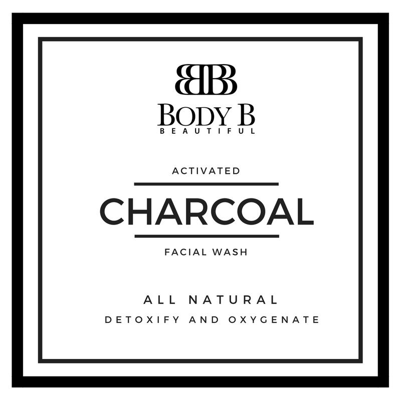 Body B Charcoal Face Wash