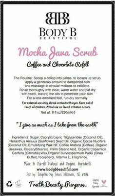 Mocha Java Coffee Scrub Refill
