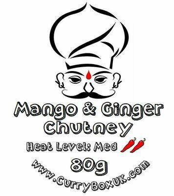 Mango & Ginger Chutney  80g  Coming soon....