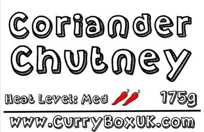 Coriander Chutney Jar 175g