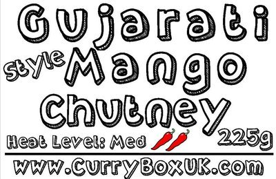 Gujarati Style Mango Chutney Jar 225g