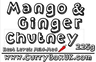 Mango & Ginger Jar 225g