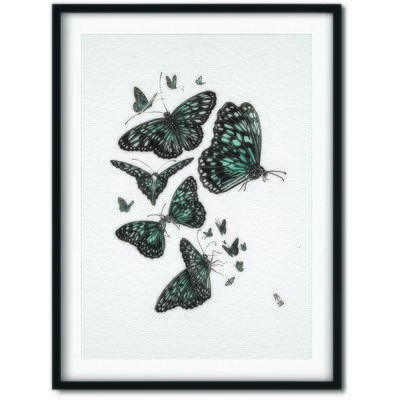 'Butterfly Love' A2 *Limited Edition* Giclee Print