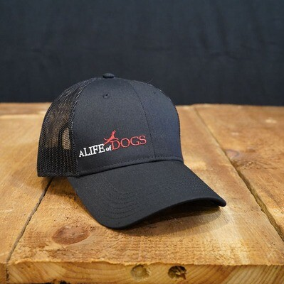 A Life of Dogs Trucker Hat - Black