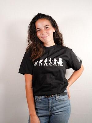 Evolution T-Shirt Modern Design (various colors)