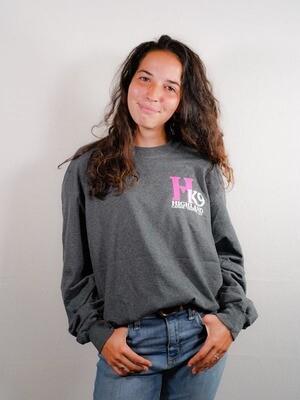 2018 Breast Cancer Awareness Long Sleeve T Shirt