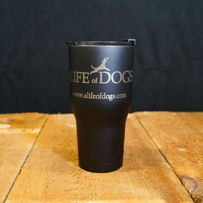 Tumbler, RTIC 30oz - A Life of Dogs (various colors)