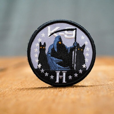 K9 Reaper Patch with Velcro Back