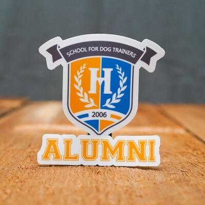 School for Dog Trainers Alumni - Auto Sticker