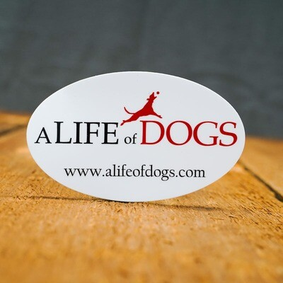 A Life of Dogs - Decal