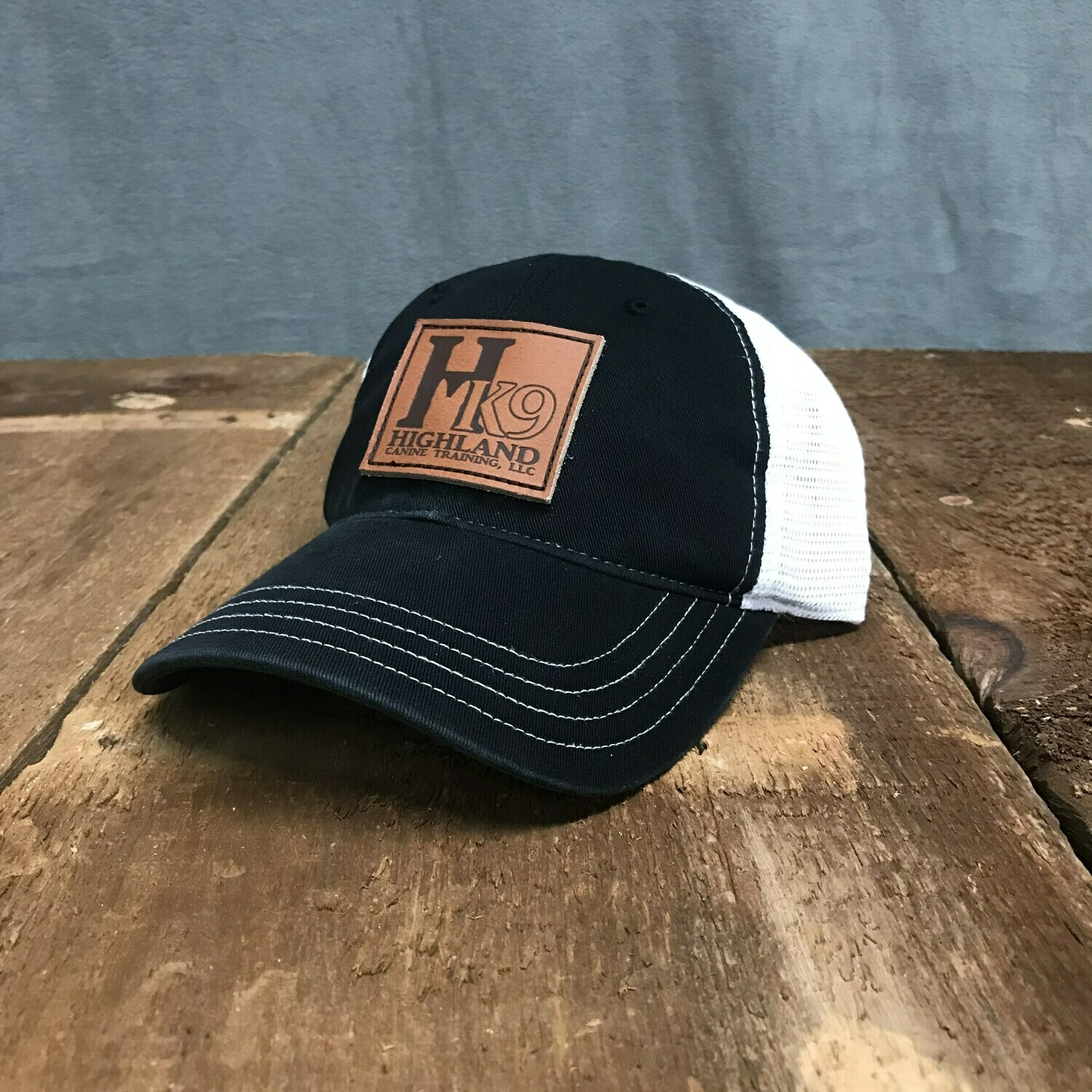 HK9 Leather Patch Hat