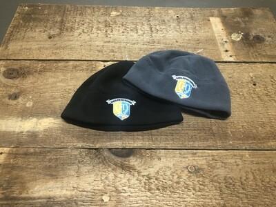 Fleece Watch Cap with School Logo