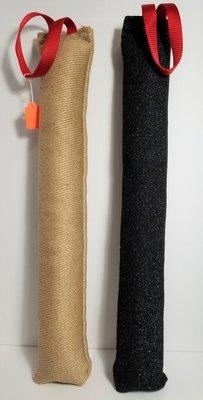 Obedience Bite Tug, Single Handle,  3-inch wide x 24-inch long
