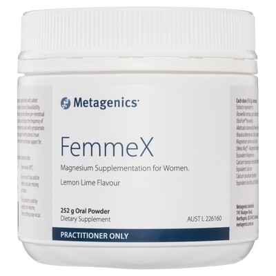 FemmeX Lemon Lime flavour 252 g oral powder