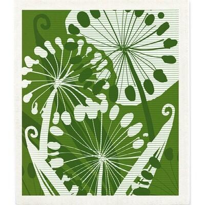 Ferns Dish Cloth