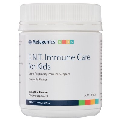 E.N.T. Immune Care for Kids Pineapple flavour 97 g oral powder
