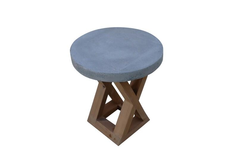 Concrete Accent Table