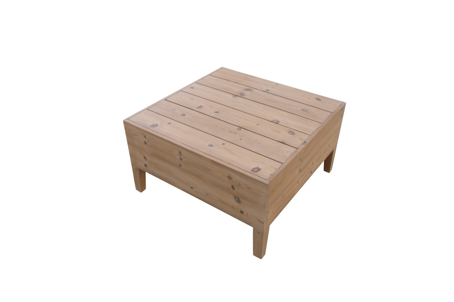 Thermory Pine Corner Table
