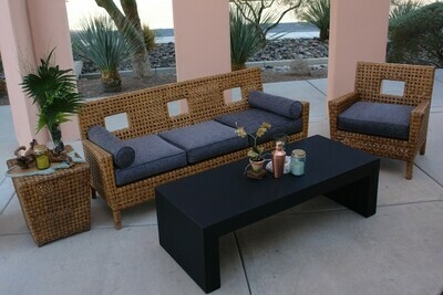Intimate Rattan Rental Package-Seating for 10
