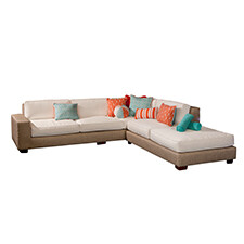 10 Foot x 10 Foot Loose Cushion Sectional