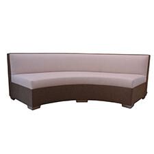 Poolside Curve Armless Sofa
