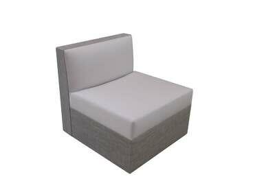 Armless Swivel Chair