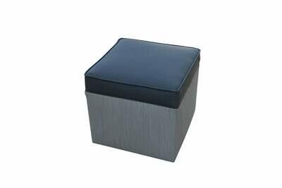Cube Cushion Top Ottoman