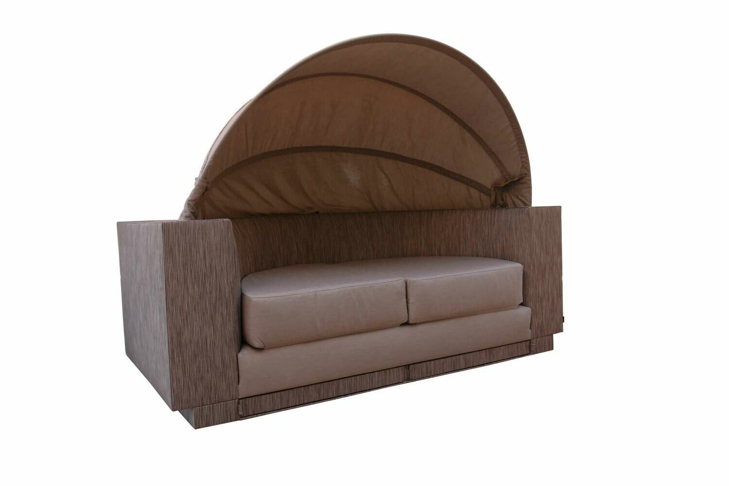 Sofa Daybed With Retractable Canopy-Sample