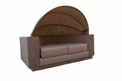 Sofa Daybed With Retractable Canopy