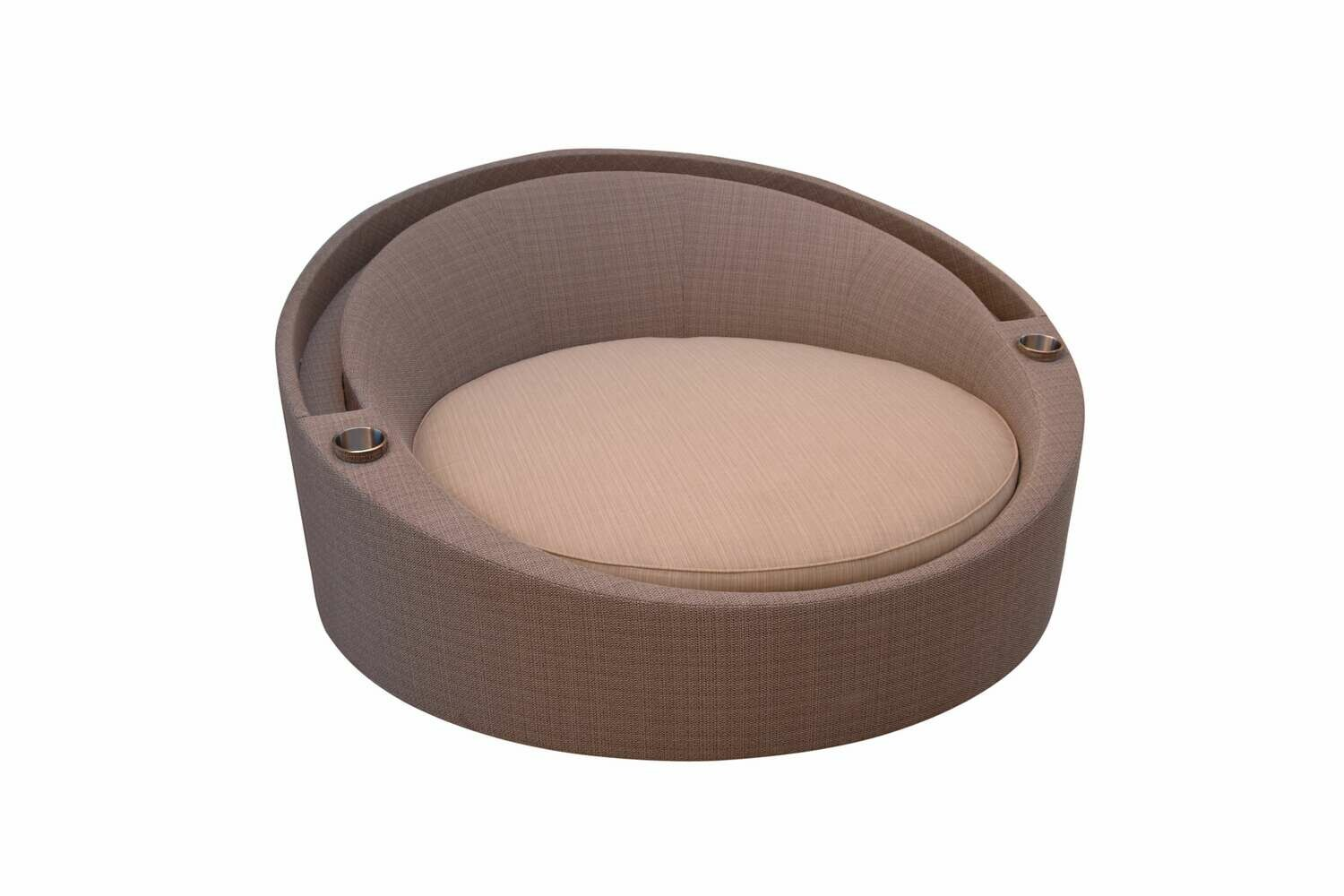 Round Bed With Canopy-Sample
