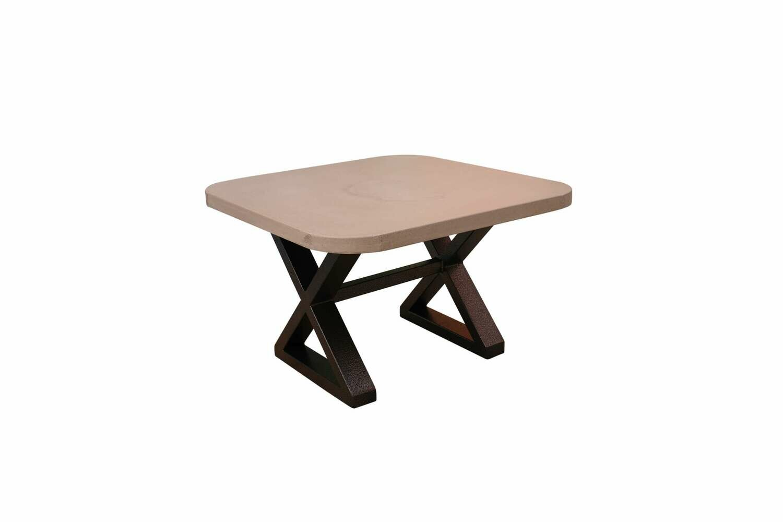 Concrete & Metal Scround Coffee or Corner Table