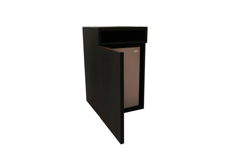Black Storage Pedestal