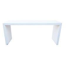 White 8 Foot Pedestal Table