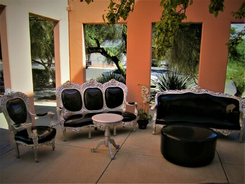 Antique Louie I Rental Package-Seating for 8