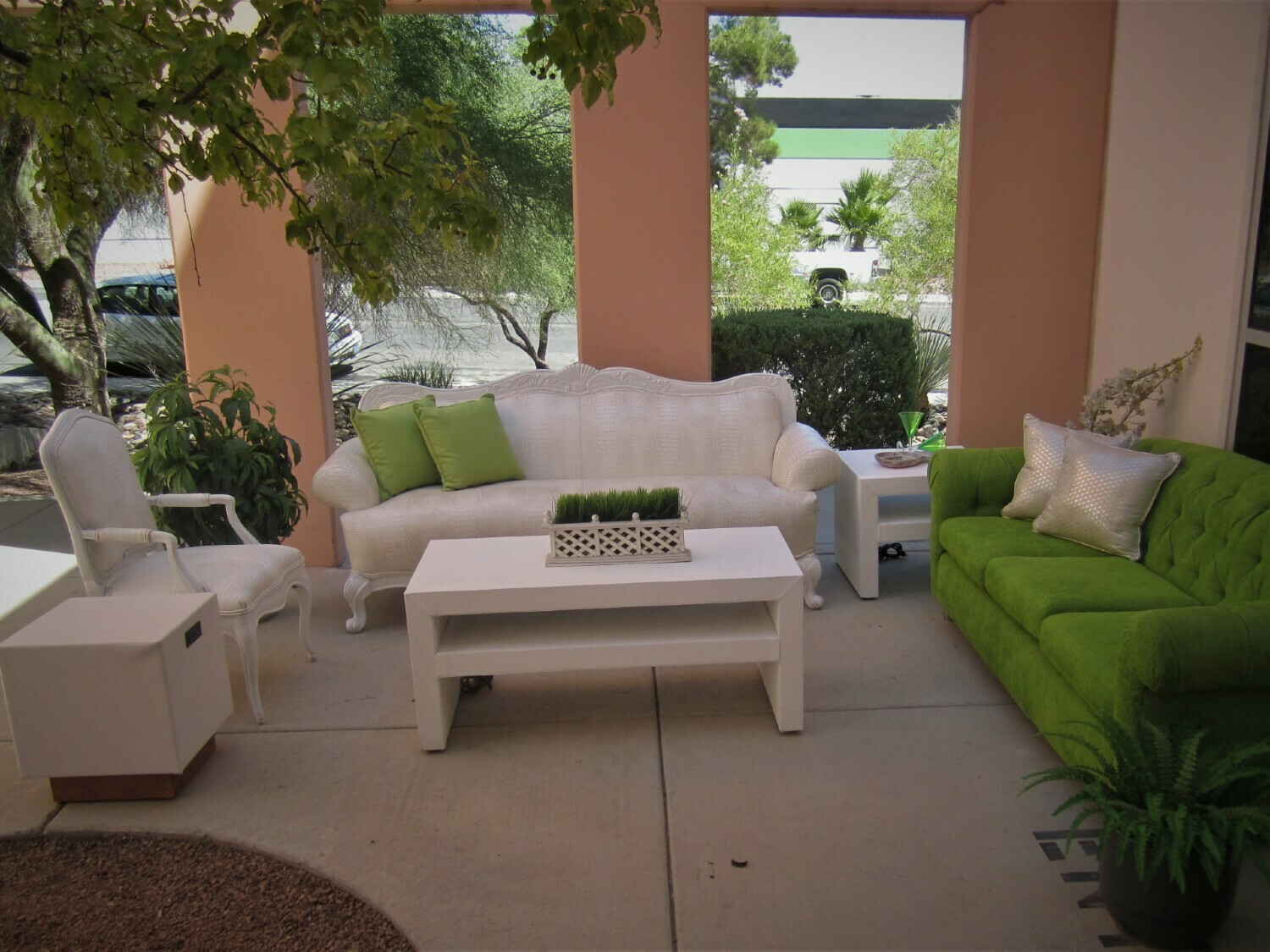 Garden Party Rental Package-Seating for 16